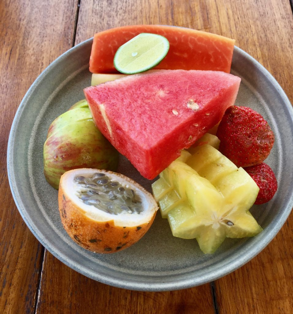 best fruit plate in Bali