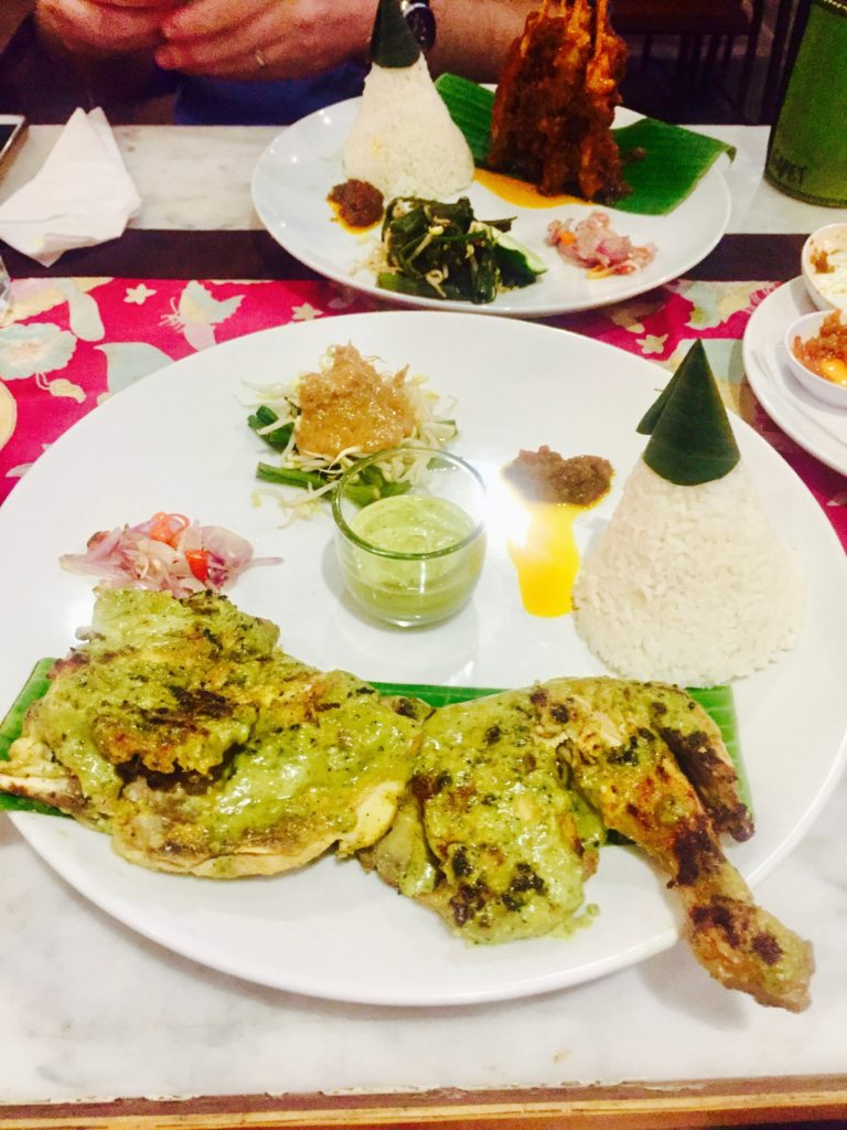 best chicken satay in Bali