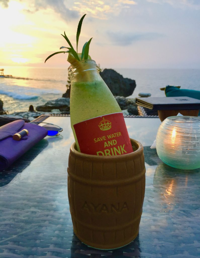 best sunset cocktails in Bali