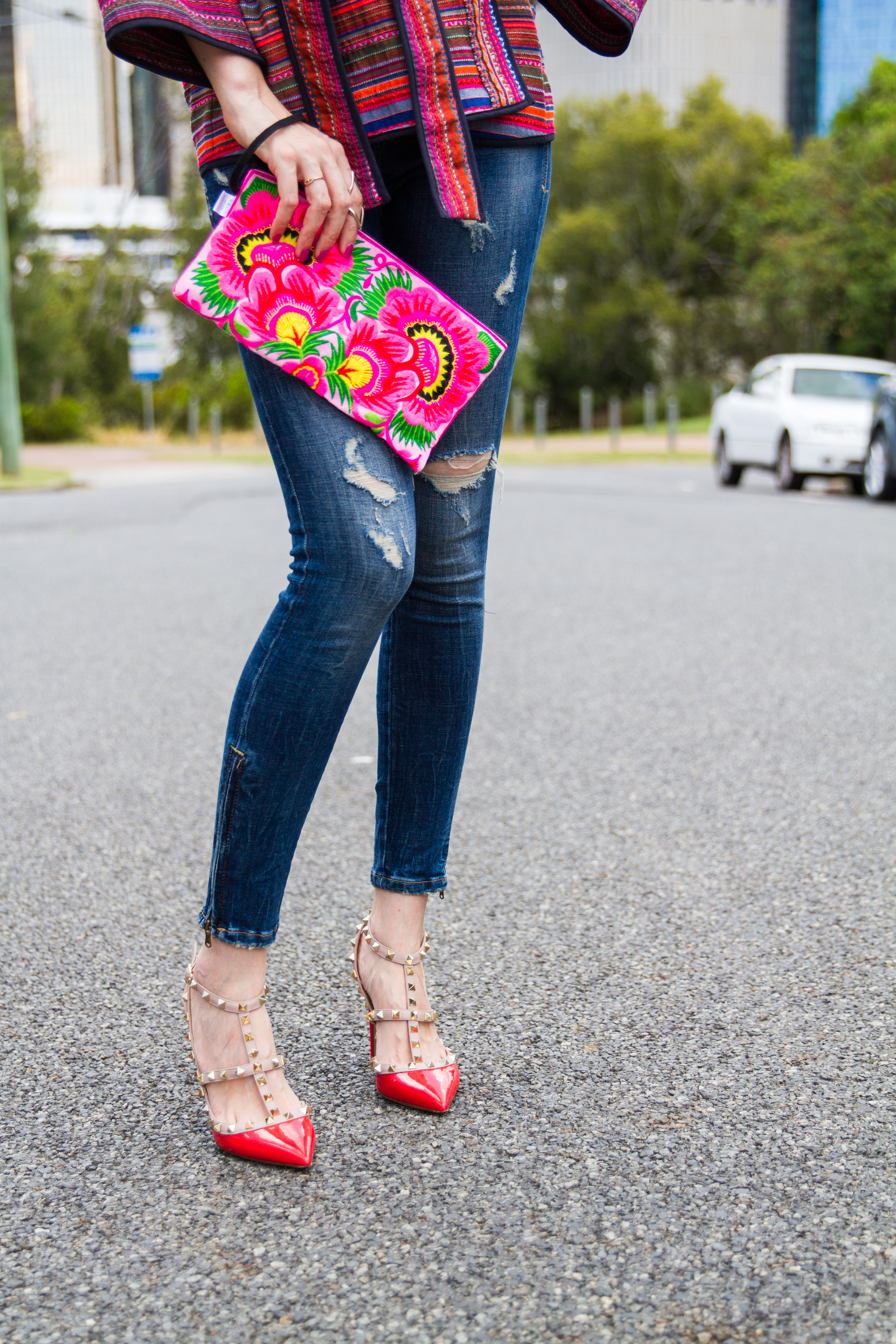 how to accessorise with colour